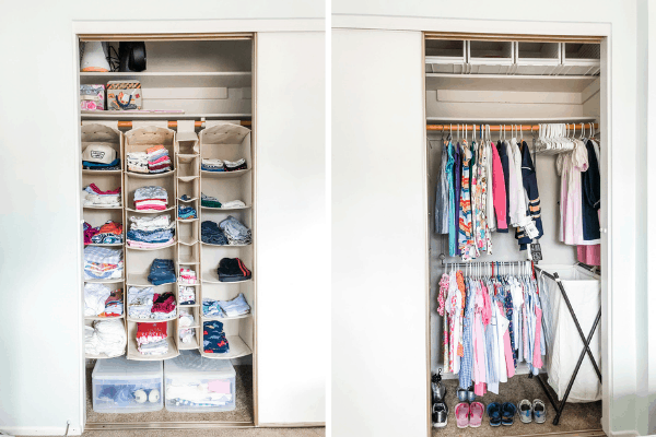 mistakes moms make when organizing a kids closet