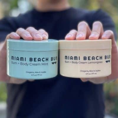 Miami Beach Bum Bum + Body Cream